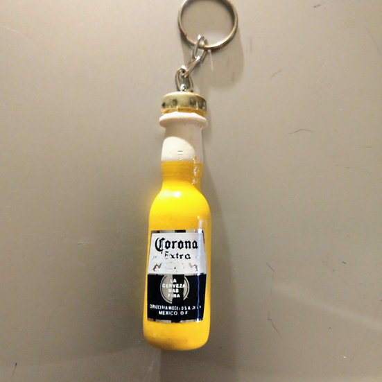 Corana Bottle Keychain
