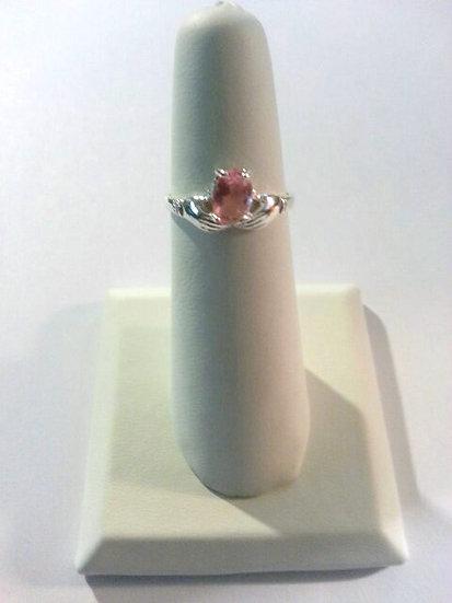 Genuine Sterling Silver Hands Ring
