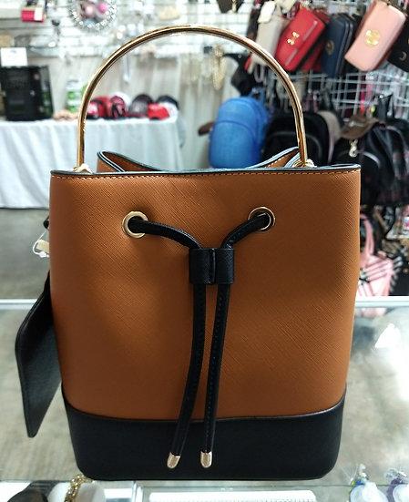Drawstring & Snap Closure Handbag