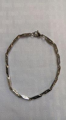 Genuine Stainless Steel 3mm Link Bracelet