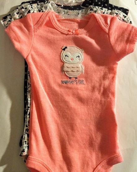 3pc Carter's Baby Tees/Onesies