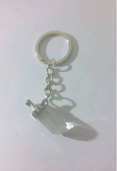 Baby Bottle Keychain