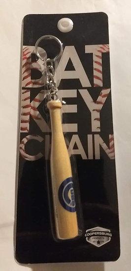 Chicago Cubs Bat Keychain