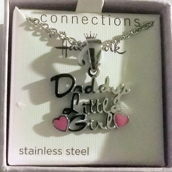 """Daddy's Little Girl"" Necklace"