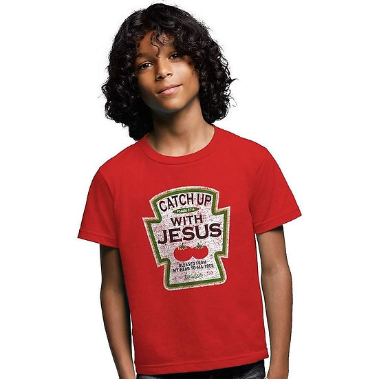 Catch Up w/Jesus Tee