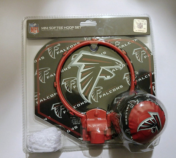 Falcons Soft Hoop Basketball Set