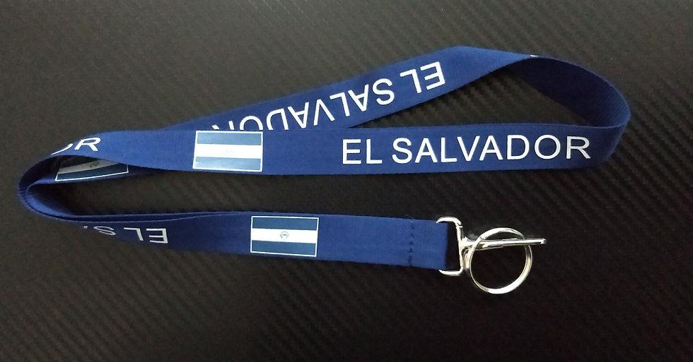 El Salvador Lanyard