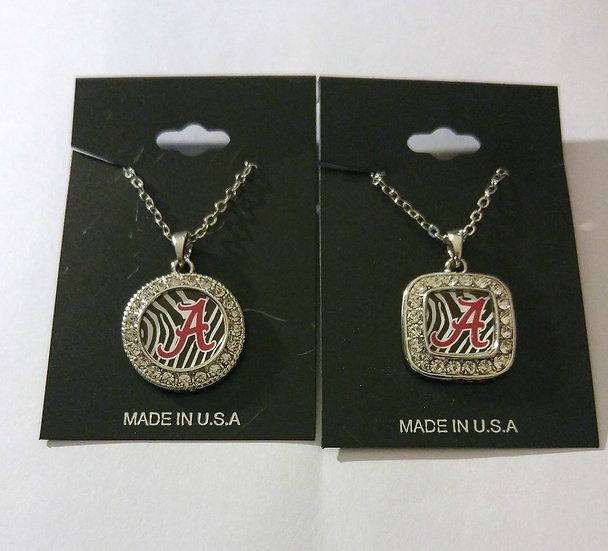Alabama Striped Necklace
