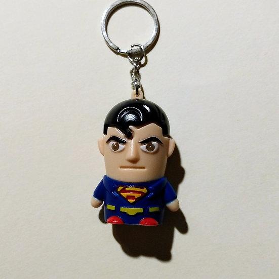 Superman Light and Sound Keychain
