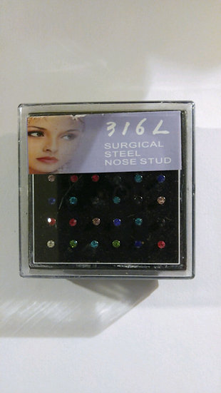 24 pc Nose Ring Studs