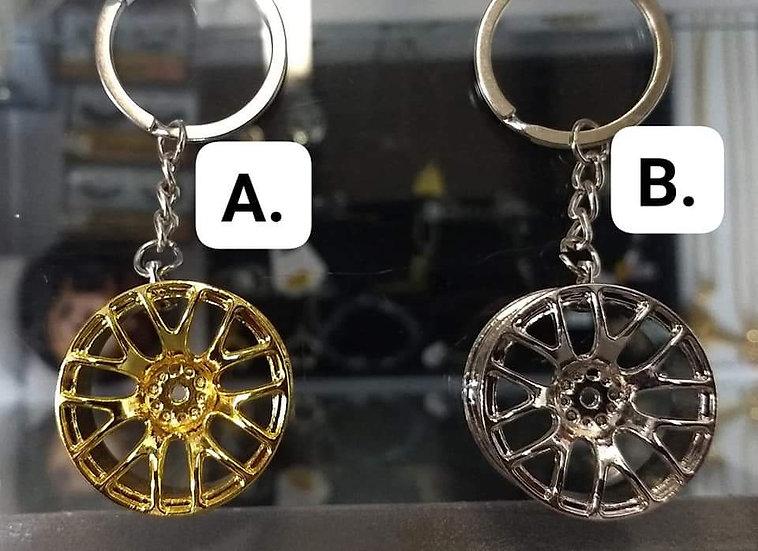 BBS Wheel Rim Keychain