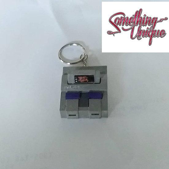Super Nintendo Keychain Console