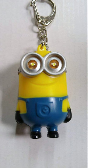 Minions Light and Sound Keychains