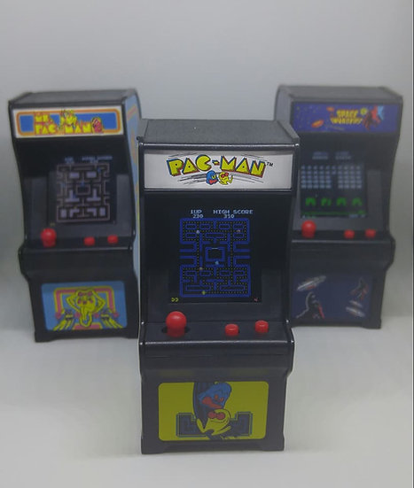 Mini Arcade Game Keychains
