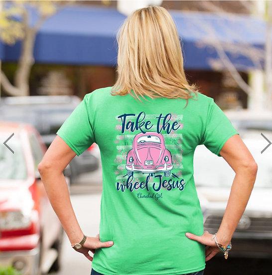 Take the Wheel Tee