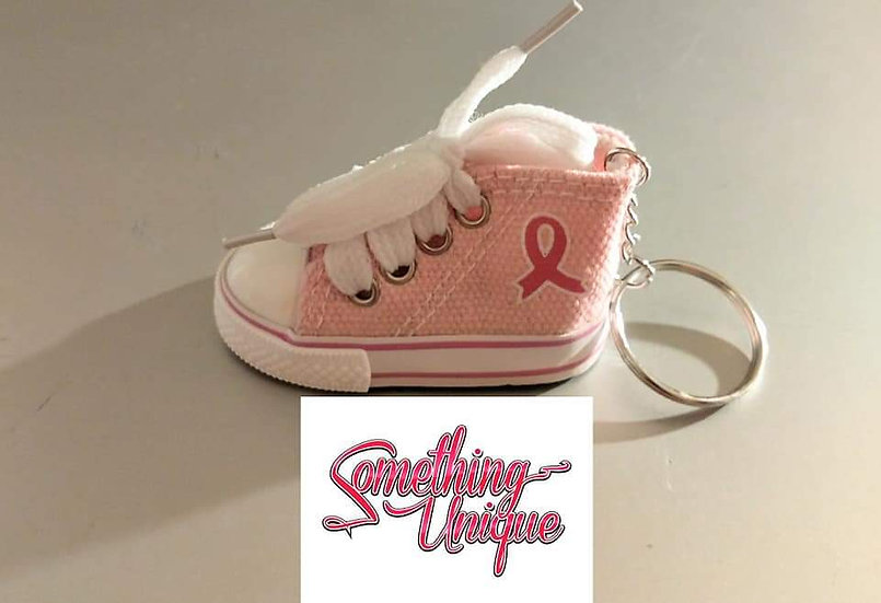 Breast Cancer Awareness Shoe Keychain!!