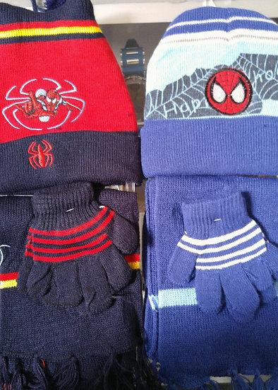 3pc Hat, Glove & Scarf Set