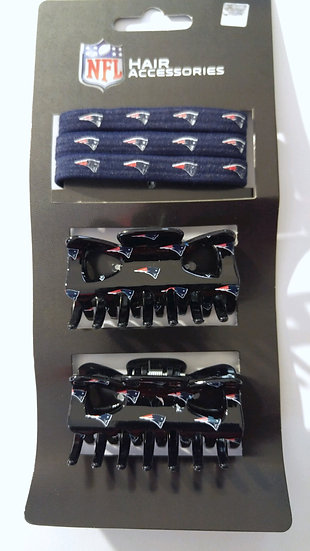 5pc NFL Hair Accessories