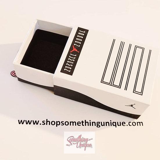 Mini Shoe Keychain Shoe Box