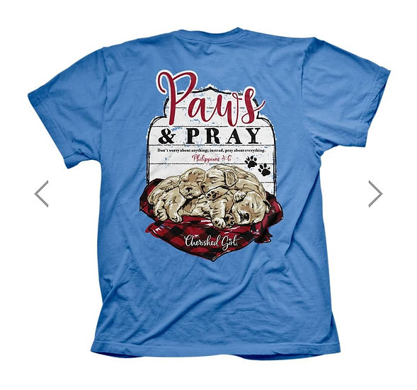 Paws and Pray Tee