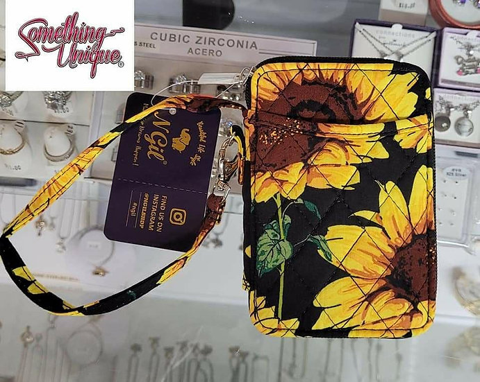 Sunflower Wallet/Wristlet