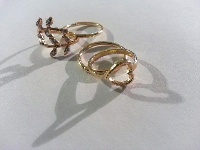 4pc. Midi Ring Set