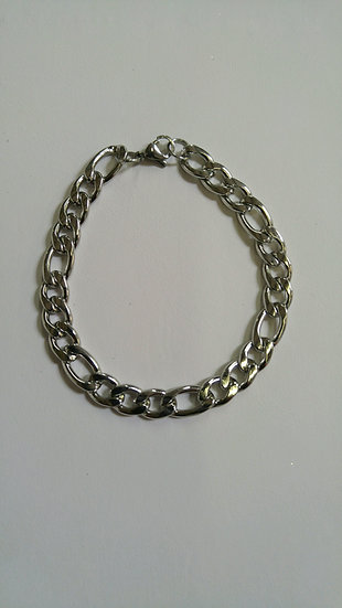 Curb Stainless Steel Bracelet