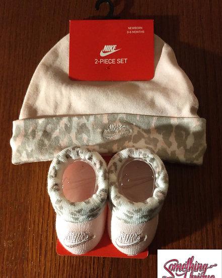 Nike Infant Hat & Booties Set