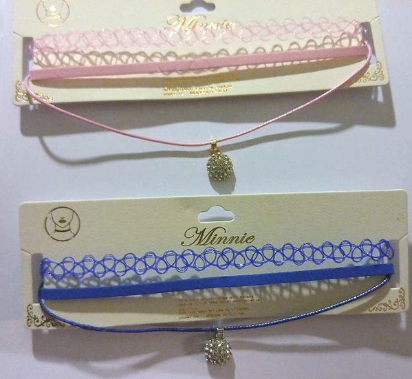 Pack of 2 Chokers