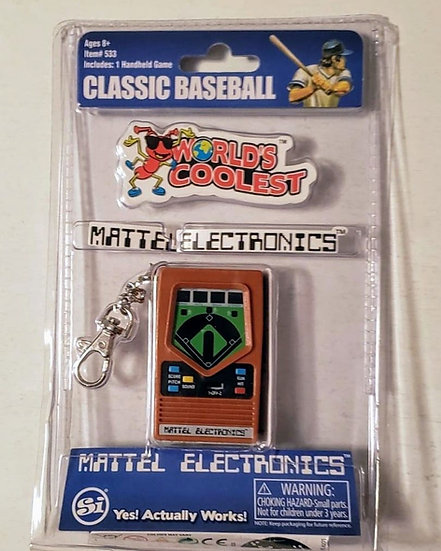 Mini Electronic Game Keychains
