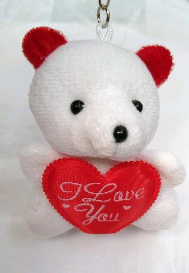 """I Love You"" Teddy Keychain"