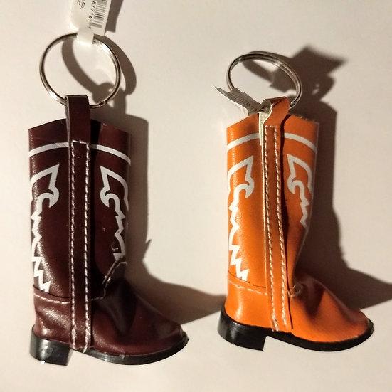 Cowboy Boot Keychains