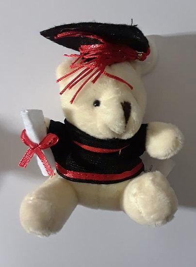 Teddy Bear Graduation Keychain