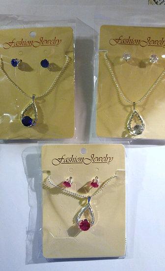 Formal Necklace & Earring Set