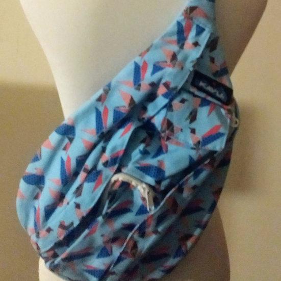 Blue Print Mini Kavu Rope Bag