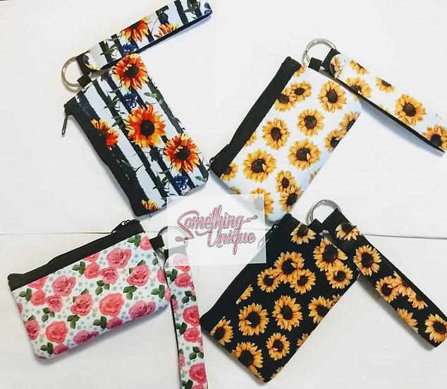 Floral Wallet/Wristlet