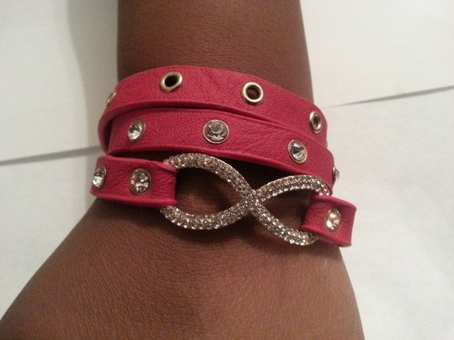 Fushia Wrap Around Bracelet