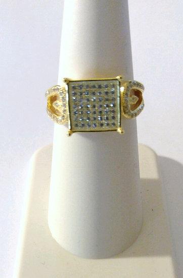 Bling Sterling Silver Ring