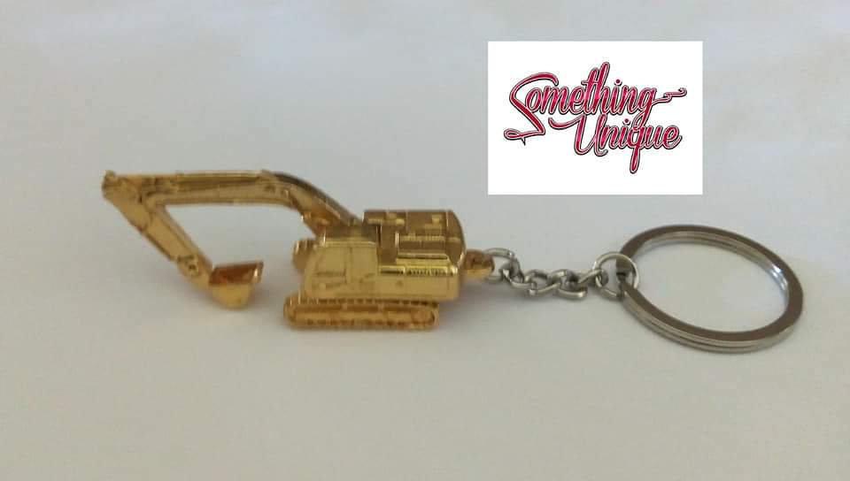 Mini Excavator Keychain
