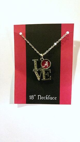 Alabama Love Necklace