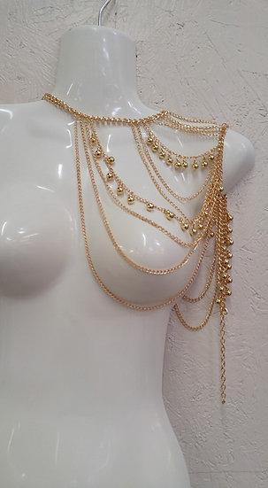 Gold Arm/Body Jewelry