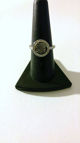 Sterling Silver Engravable Ring