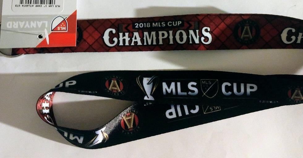 Atlanta United Championship Lanyard
