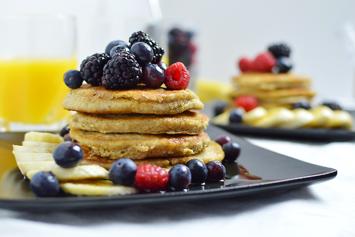 Nutritious Banana Pancakes
