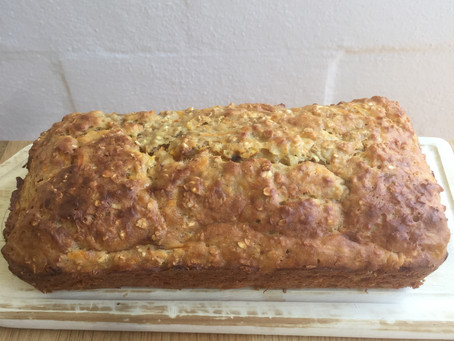 Kids Banana Bread Laced with Carrot