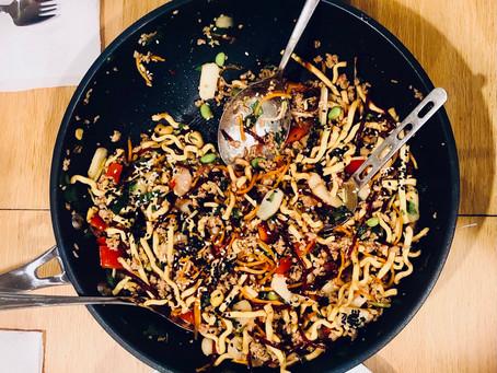 Quick and Healthy San Choy Bau