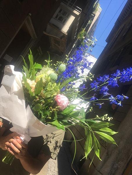 Mazzo di fiori freschi