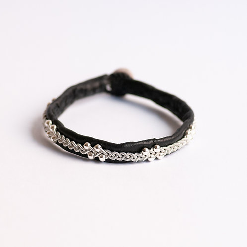 BRACELET BRC011 BLACK/WHITE/GRAY