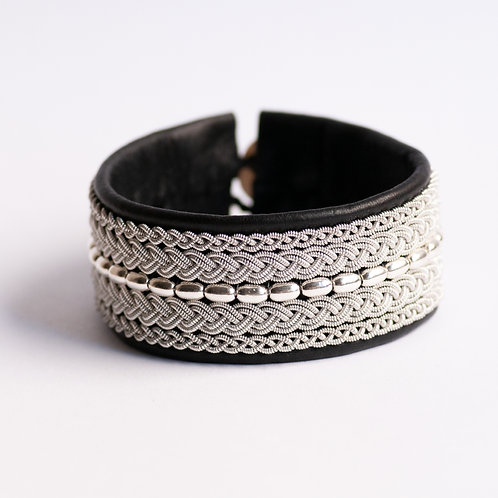 BRACELET BRC034 BLACK/WHITE/GRAY