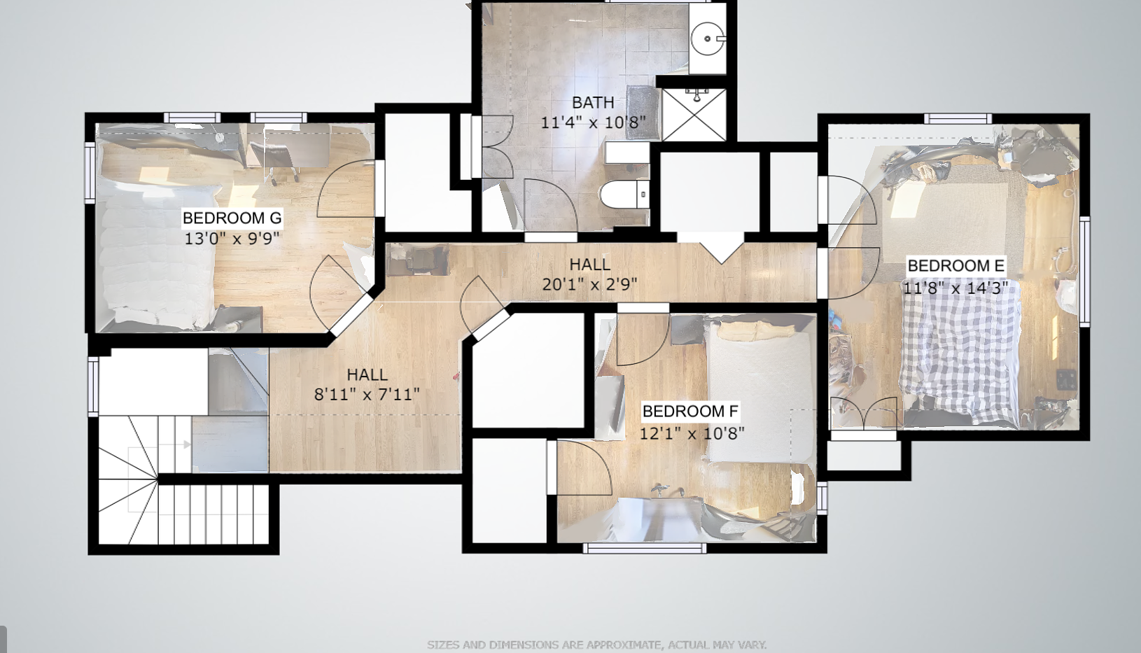 4th Floor Floorplan